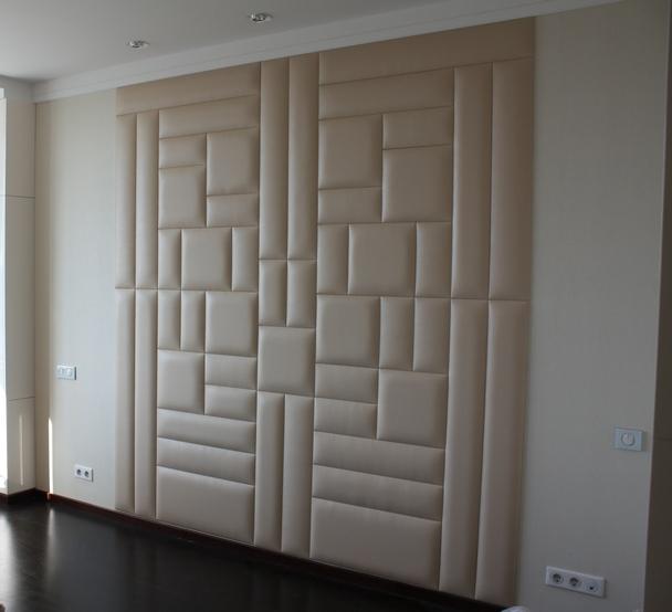 Мягкие панели для стен сделать своими руками